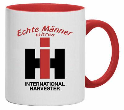 Tasse | Kaffeebecher | Echte Männer fahren IHC International Harvester 1162-T-01 Internationale Kaffee