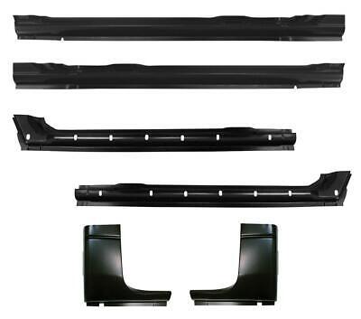 Inner & Outer Rocker Panel & Cab Corner Kit for 94-01 Dodge Ram Pickup Crew Cab