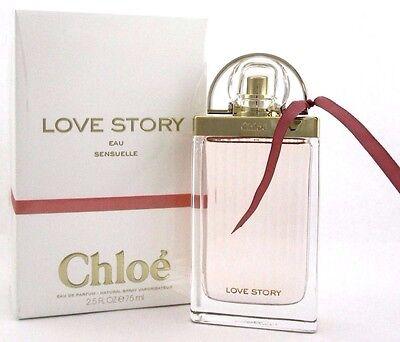 Love Story Eau Sensuelle Perfume by Chloe 2.5 oz. EDP Spray for Women. Brand new