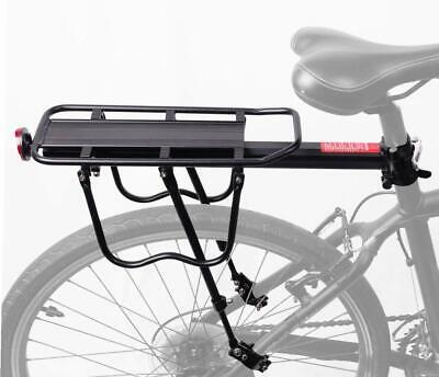 Alloy Rear Bicycle Pannier Rack Carrier Bag Luggage Cycle Mountain Bike O5H5