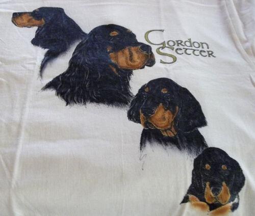 """Gordon Setter T-shirt  """" Ash """" SM ( 34 ~ 36 )"""