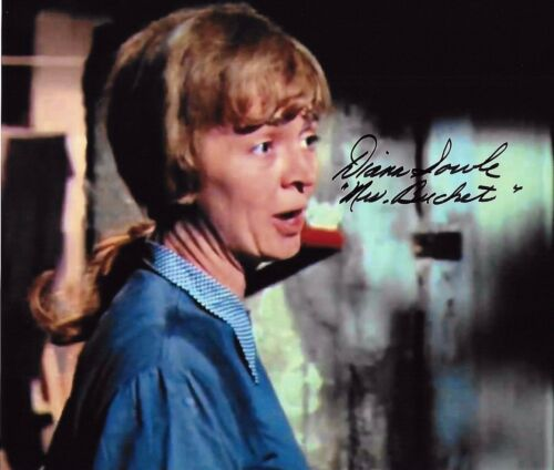RARE Willy Wonka /& The Chocolate Factory Denise Nickerson Signed Photo G874