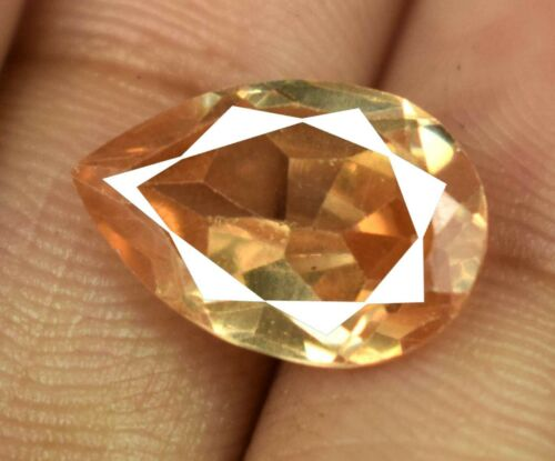 Festive Sales 9.35 Ct Pear Brown Axinite Gemstone 100% Natural Certified V8161