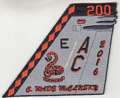 VFA-86 SIDEWINDERS McCLUSKY 2016 TAIL FIN PATCH