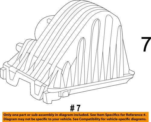 CHRYSLER OEM Air Cleaner Intake-Filter Box Housing Lid Top Cover 68039727AA