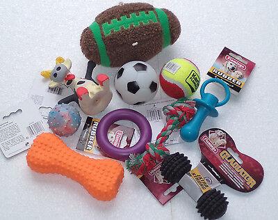 10 teiliges Hundespielzeug Set für kleine Hunde/Welpen stück nur 1,50 €