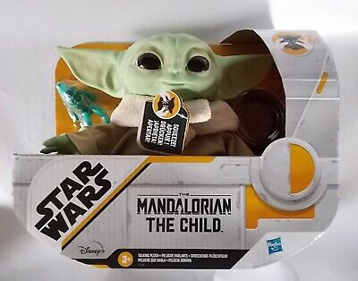 "Star Wars Mandalorian The Child Plush 7.5"" Talking Baby Yoda **New**"