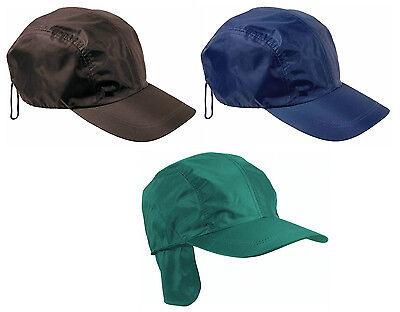 Cappellino impermeabile con  paraorecchie interno in caldissimo polar 3 colori