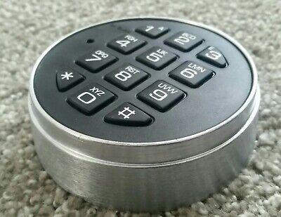La Gard Lg3000 Basic Series Round Safe Lock - Satin Chrome Keypad Only Parts