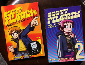 Scott Pilgrim Graphic Novels