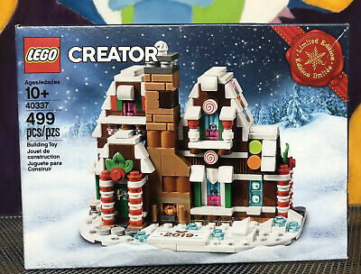 LEGO 40337 Mini Gingerbread House Limited Edition New Christmas