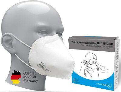 10x FFP3 Maske Zertifiziert Atemschutzmaske elasto 01482 | deutsche Herstellung