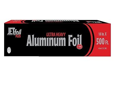 Heavy Duty Foil - Party Bargains ULTRA Heavy Duty Food Service Aluminum Foil 500ft - 18