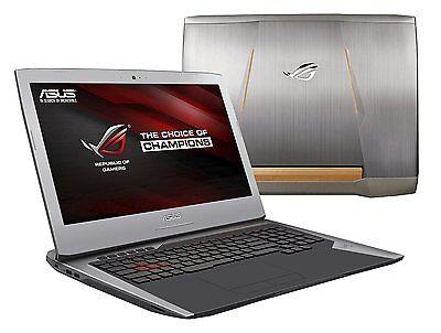 "ASUS ROG G752VT-DH72 17.3"" Gaming Laptop i7-6700HQ 16GB 1TB 128GB GTX 970M 3GB"