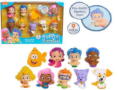 BUBBLE GUPPIES BATH SQUIRTERS DELUXE WATER SQUIRTER SET GIL MOLLY DEEMA GOBBY ()