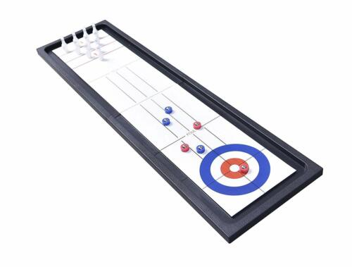 C&H Solutions 40 inches Fold 2 in 1 Bowling & Curling Games Set