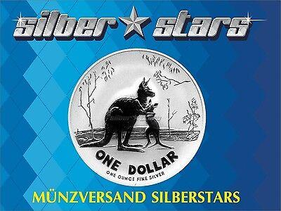 1 AU Dollar Silber Känguru 2007 Kangaroo 1 OZ Silver  ()