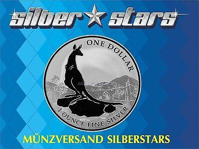 1 AU Dollar Silber Känguru  Kangaroo 2013 1 OZ Silver ()
