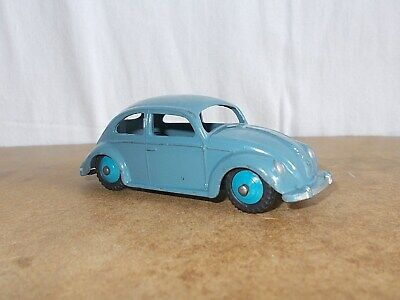 vintage 1/43 DINKY TOYS England - No 181 VOLKSWAGEN coccinelle beetle - 50s (2)