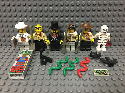 Lego Adventurers Minifigure Lot 6 Orient Expedition 7419 5928 5978 5976 5986