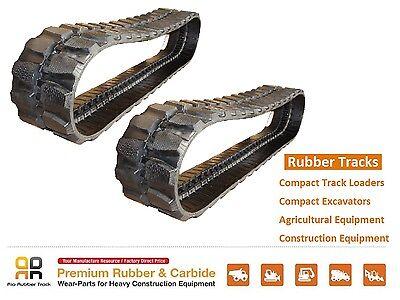 2pc Rubber Track 450x71x82 Case 9007b Sumitomo Sh65u Excavator