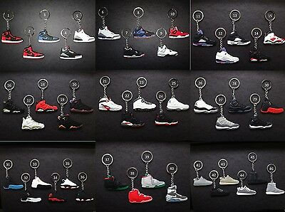 Air Jordan Retro Sneaker KeyChain BUY 2 GET 1 FREE! Please See Description