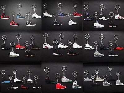 Keychain Air - Air Jordan Retro Sneaker KeyChain BUY 2 GET 1 FREE! Please See Description