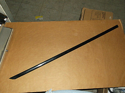 Molding Reproduction - Impala SS~Rear Bumper Molding~1994-96~Black~10249329~Drivers Side~Reproduction~