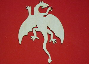 Dragons-Unfinished-Flat-Wood-Shapes-D906-Crafts-Cut-Outs-Variety-of-Sizes