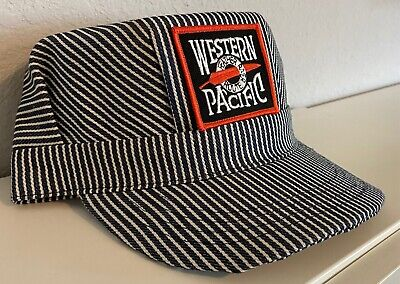 Engineer/Conductor Cap/Hat- Western Pacific (WP)-adjustable-Adult or Child-NEW