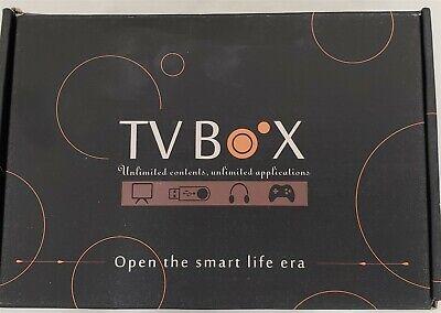 Android TV Box 9.0 4GB 64GB Smart TV Box Streaming Media Player RK3318 USB 3.0..