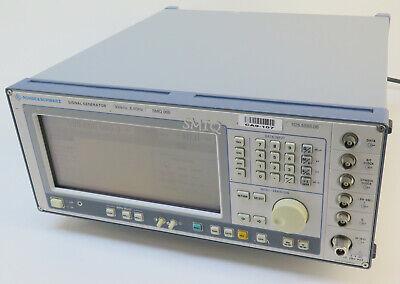 Rohde Schwarz Smiq06b Vector Signal Generator 300 Khz - 6.4 Ghz  Options