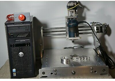 Bench Top Cnc Router Milling Engraving Drilling Pcbready To Run