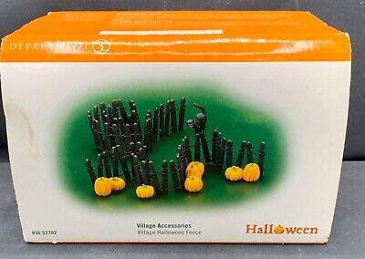 Retired Dept 56 Halloween (Dept 56 Village Accessories Halloween Fence 1998 Retired)