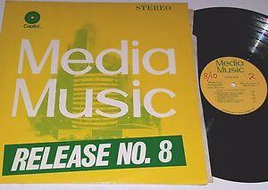 CAPITOL RECORDS MEDIA MUSIC LIBRARY #8 LP HENRIK NEILSEN Dj funk kpm chappell