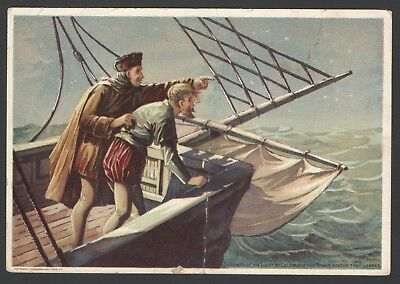Gold Band COFFEE Advertising Trade Card Thomas &Taylor Spice Co Chicago COLUMBUS