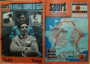 SPORT-ILLUSTRATO-N-27-07-LUG-1955-E-039-SPRONE-AI-NOSTRI-L-039-OMBRA-DEI-GRANDI