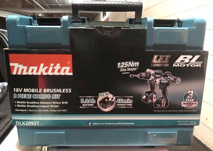BRAND NEW 2 PIECE BRUSHLESS COMBO KIT (impact & hammer drill driver)