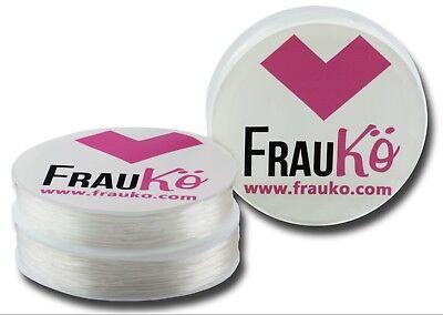 Transparent Elastisch (Rolle Nylonfaden Bastelschnur Draht Band elastisch transparent 1,0 mm - FK00037)