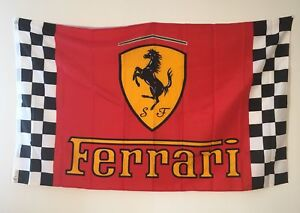 New racing car flags big size 3'x5'