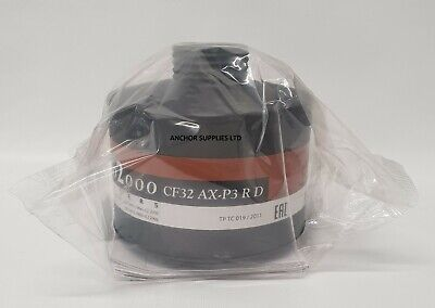 Scott Pro2000 Respirator Filter CF32 AX-P3 R D CF32 AX-PSLR 40mm Fits FM12 & S10 for sale  Shipping to Ireland