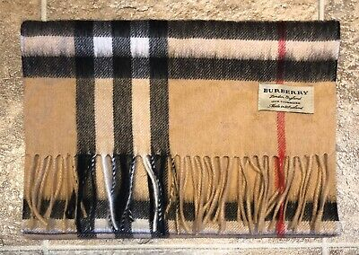 Burberry Scarf 100% Authentic Cashmere Men And Woman