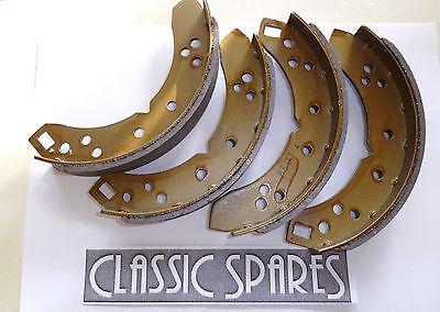 TRIUMPH HERALD ALL MODELS REAR BRAKE SHOES SET OF 4 1959 1971 NJ838 AF