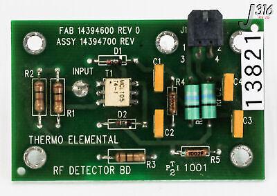 13821 Thermo Elemental Pcb Rf Detector Bd Fab 14394600 14394700