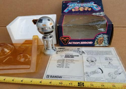 Terrahawks ZEROID Bandai 1983 Gerry Anderson TV Series OPEN BOX  Good Condition