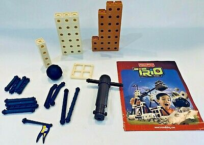 Fisher Price Trio King's Hammerpult Building Block Set Lot Not Complete P9047