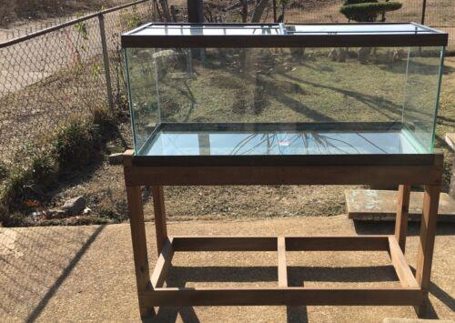 75 Gallon Aquarium & Solid Wood Stand