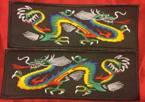 Multi Color Blue Back Dragon Liberty Cuff Set