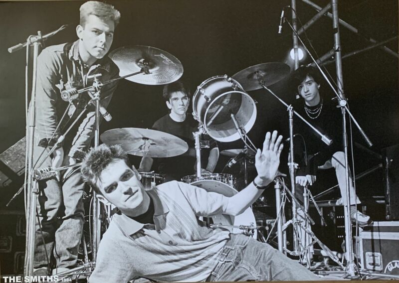 The Smiths Band Shot Poster 23 X 33