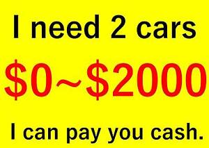 【pay cash】I need $0~$1700 car(no REGO and RWC) can drive well Sunnybank Hills Brisbane South West Preview